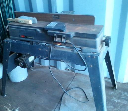 Photo Craftsman jointer planer - $150 (Valley Springs)