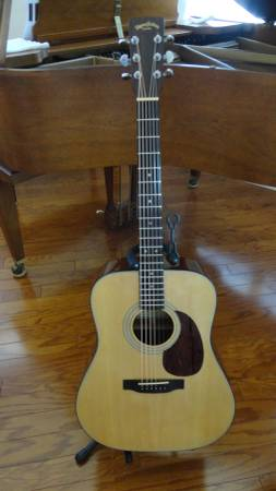 Photo Early 9039s Martin Sigma Dm-2 with Hard case - $250 (Jackson)