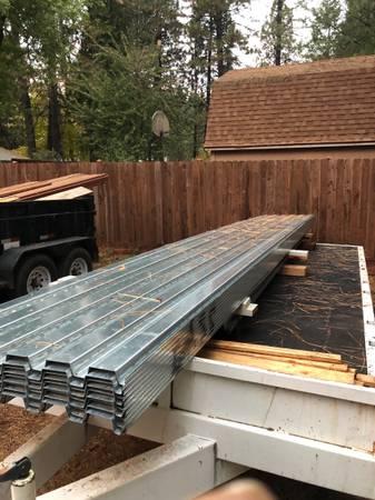 Photo FORMLOK Pan deck metal 16 gauge 3 wide 9  148 - 10  22 - $6,500 (Grass valley)