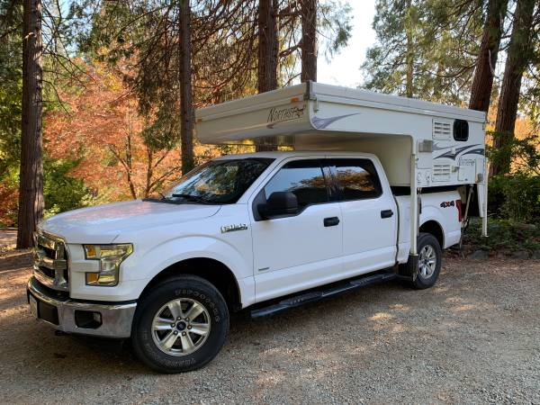 Photo Ford F-150 with Northstar cab over pop-up cer - $48,000 (Nevada City)