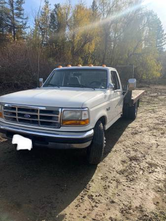 Photo Ford F-350 XLT Flatbed - $5,500 (Newcastle)