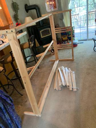 Photo Full Size Bed Frame (IKEA) (Colfax)