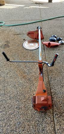 Photo Husqvarna 245R Brush Cutter Trimmer - $350