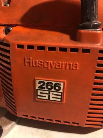 Photo Husqvarna 266se - $350 ($ or.....)