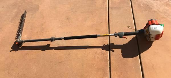 Photo Husqvarna pole hedge trimmer - $350 (Plymouth)