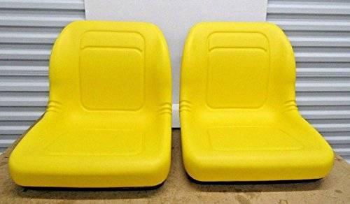 Photo JOHN DEERE GATOR 6X4 4X4 YELLOW SEATS SET OF TWO - $160 (Auburn)