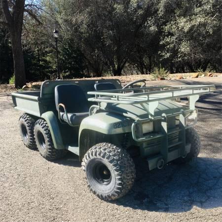 Photo John Deere Military Gator DIESEL 6x4 4x4 ATV Only 327 hours - $14999 (Auburn)