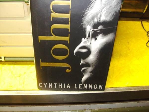 Photo John Lennon Hard Cover Book - $10 (galt)