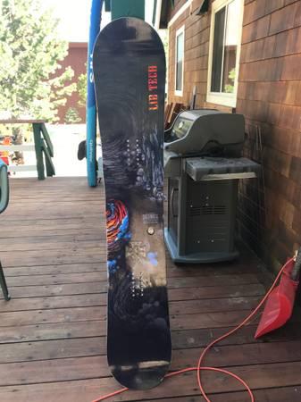 Photo Lib Tech Snowboard (mens) - $350 (Soda Springs)