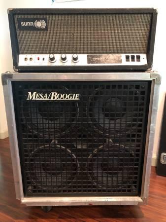 Photo Mesa Boogie Speaker cabinet - $750 (Grass Valley)
