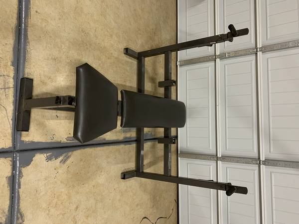 Photo Olympic weight Bench Press by Parabody - $250 (Meadow Vista)