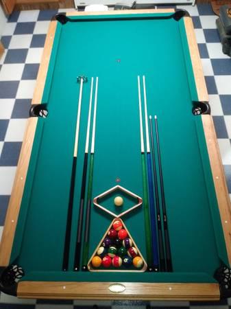 Photo Pool Table, American Heritage - $1,000 (Pioneer)