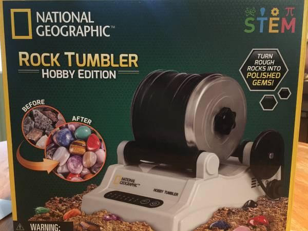 Photo Rock tumbler - $50 (Nevada City)