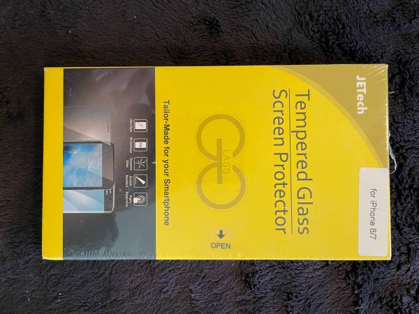 Photo Screen protector for iPhone 7 or 8 and iPad 10.2 - $20 (Nevada City)