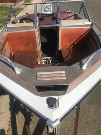 Photo Ssv177 open bow boat - $1,500 (Newman)