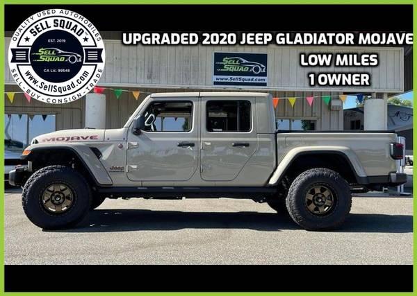 Photo UPGRADED 2020 Jeep Gladiator Mojave Pickup 4D 5 ft - $59995.00 (UPGRADED 2020 Jeep Gladiator Mojave Pickup )