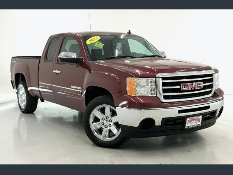 Photo Used 2013 GMC Sierra 1500 4x4 Extended Cab SLE for sale