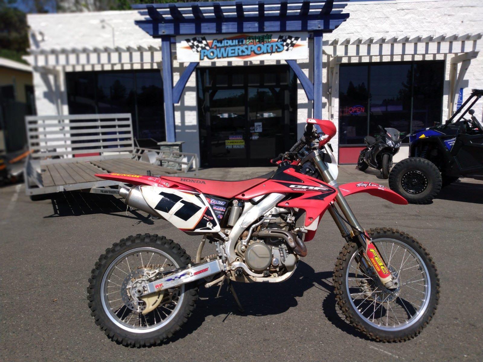 Photo Used 2005 Honda Dirt Bike Motorcycle  $3999