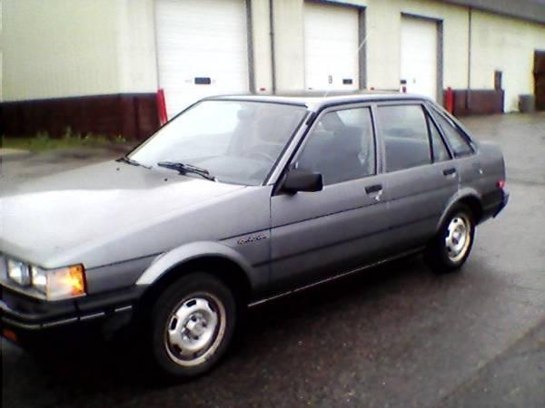 Photo 1986 Chevy Nova - $2,550 (Grand Forks)