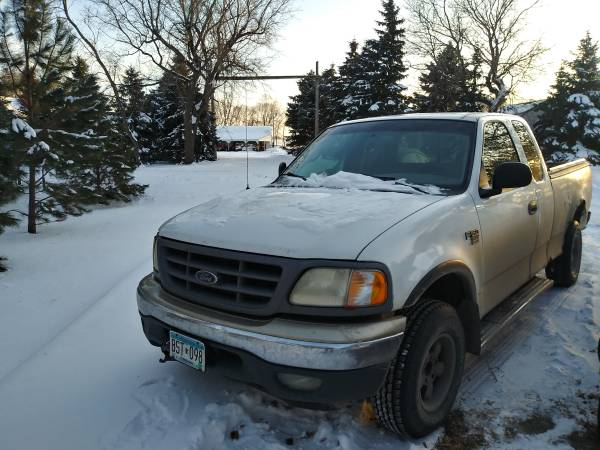 Photo 2000 Ford F150 4x4 Extended cab - $800 (Barnesville)
