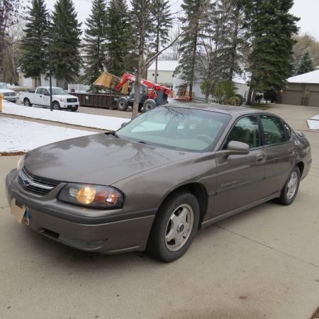 Photo 2002 Chevy Impala LS - $2,980 (Grand Forks)