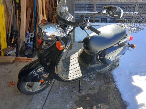 Photo 2008 Yamaha Vino 125 low miles $1500 - $1,500 (East Gull Lake)