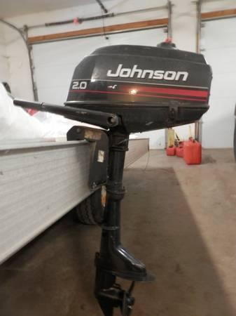 Photo 2 HP JOHNSON OUTBOARD MOTOR - $250 (MALMO)
