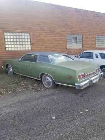 73 ford 2 door - $1,300 (Park River)