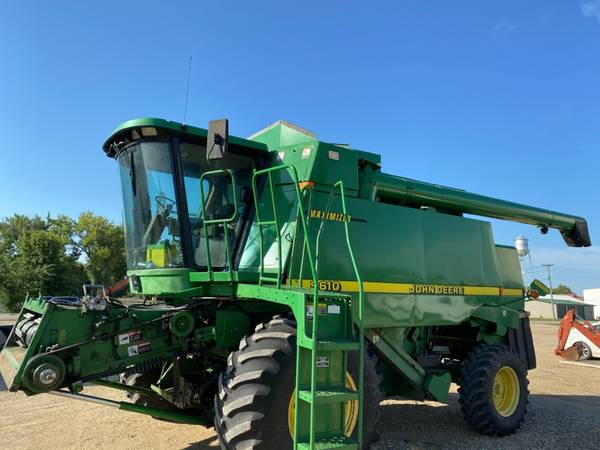 Photo John Deere 9610  630 Flex Head  Header Trailer - $30,000 (RUTLAND)
