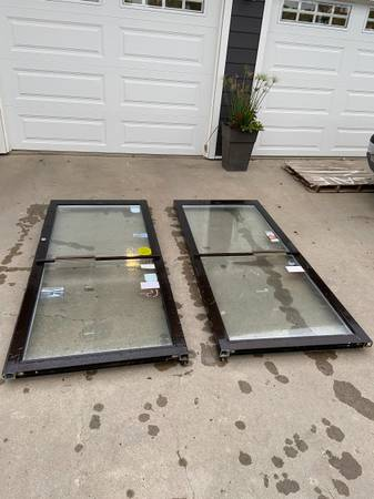 Photo Kwaneer commercial glass doors - $75 (Fergus falls)