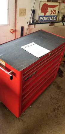 Photo Snap on 7 drawer tool chest - $1000 (Thief River Falls)