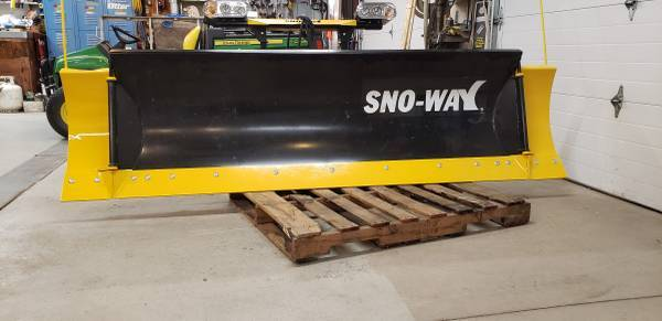 Photo Sno-way snow plow wings and down pressure - $4,600 (Grand forks)