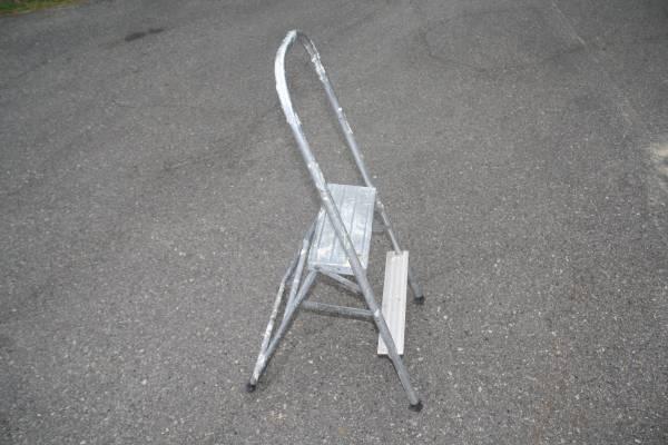 Photo Vintage Folding Aluminum 24quot Step StoolLadder Shop, kitchen, Garage - $15 (Bemidji)