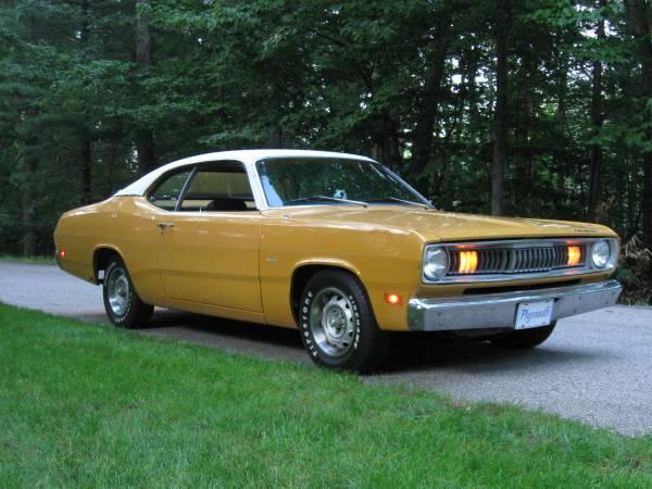 Photo 1971 Plymouth Duster - $12000 (Newaygo)