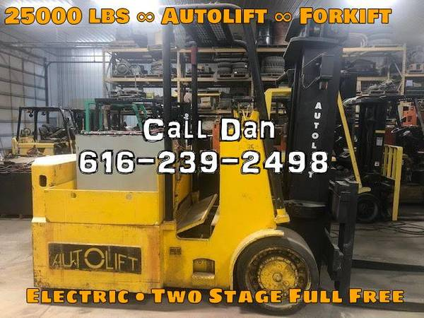 Photo 1980 Autolift Forklift Two Stage Full Free (Grand Rapids)