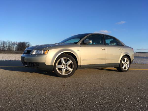 Photo 2004 Audi A4 Quattro 1.8t AWD with only 79K - $3800 (Ionia)