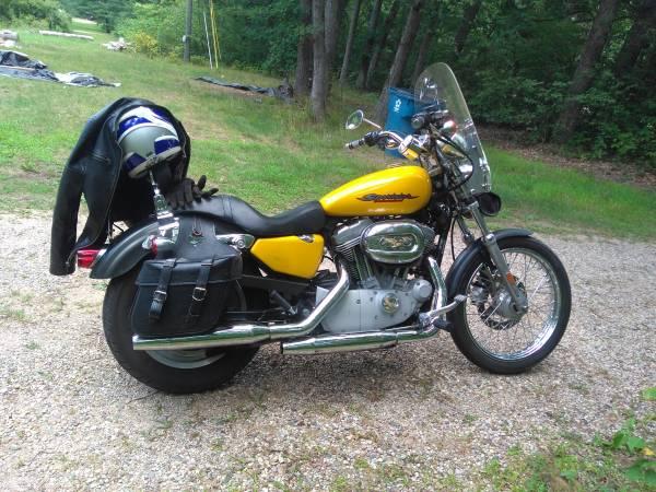Photo 2007 Harley Davidson 883 Sportster - $3,700 (White Cloud)