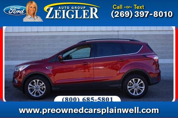 Photo 2017 Ford Escape SE Tech Pkg - $15,990 (_Ford_ _Escape_ _SUV_)