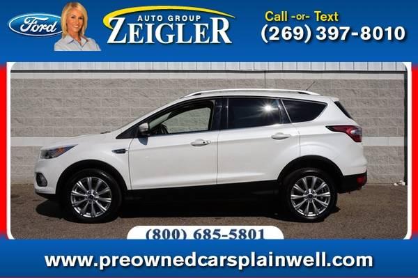 Photo 2017 Ford Escape Titanium Tech Pkg - $24,500 (_Ford_ _Escape_ _SUV_)