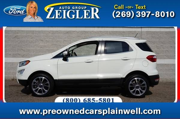 Photo 2019 Ford EcoSport Titanium - $16,990 (_Ford_ _EcoSport_ _SUV_)
