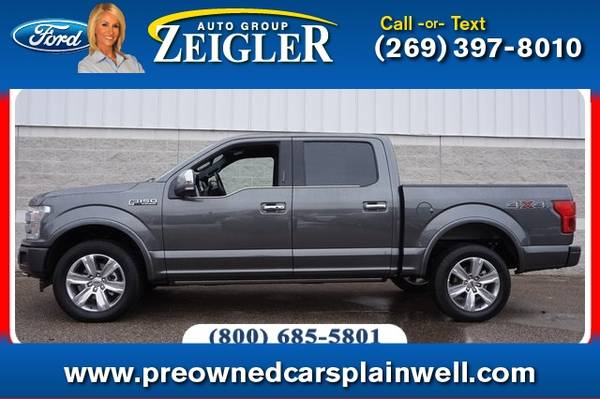 Photo 2019 Ford F-150 Platinum - $40990 (_Ford_ _F-150_ _Truck_)