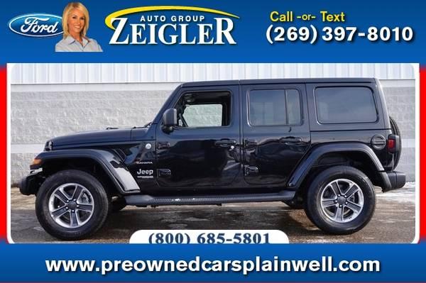 Photo 2019 Jeep Wrangler Unlimited Unlimited Sahara - $34990 (_Jeep_ _Wrangler Unlimited_ _SUV_)