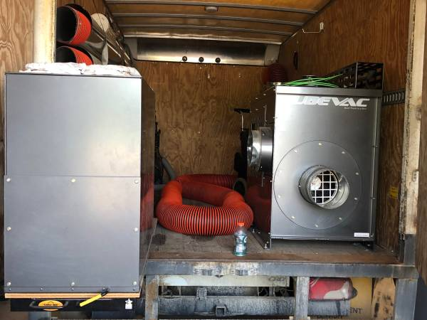 Photo Air duct cleaning cube vac system - $14,500 (Ann Arbor)