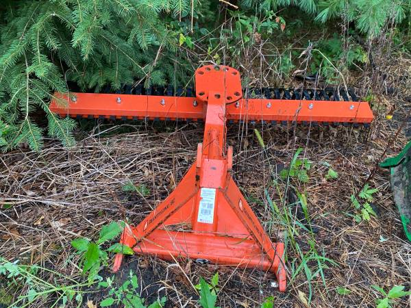 Photo County line three point tractor landscape rake - $425 (Hudsonville)