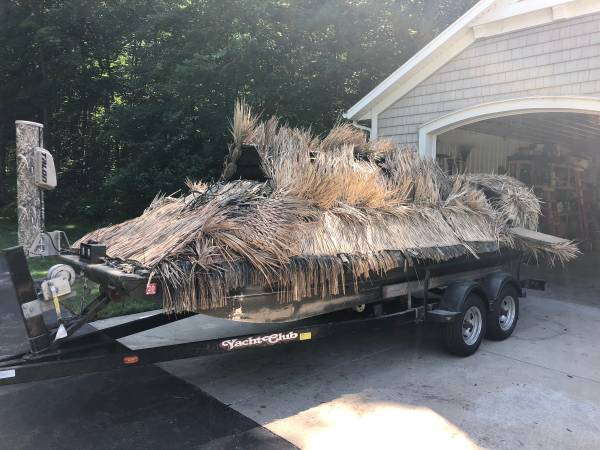 Photo Duck Hunting Boat for sale $16,500.00 OBO - $16,500 (Greenville)