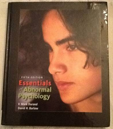 Photo Essentials of Abnormal Psychology - $37 (Grand Rapids)