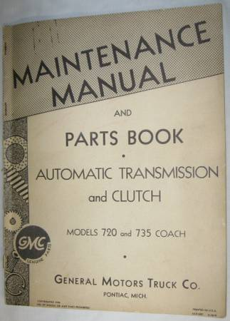 Photo GMC Chevrolet Trucks  Bus Manuals, Buy one or all, OTHER ITEMS 4 Sale - $30 (Plymouth, Mi)