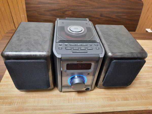 Photo JVC FS5000 ULTRA COMPACT COMPONENT STEREO AUDIO SYSTEM - $35 (Zeeland)