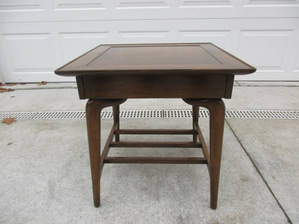 Photo Mid Century Imperial Furniture Side Table with Drawer - $250 (Grand Rapids)