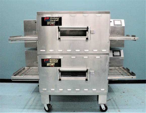 Photo Middleby Marshall Pizza Oven PS640G Double Stack Conveyor Oven (Grand Rapids - Wyoming, MI)